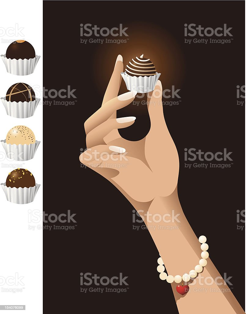 Chocolate Gift royalty-free chocolate gift stock vector art & more images of addiction