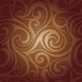 istock Chocolate liquid swirls 538722249
