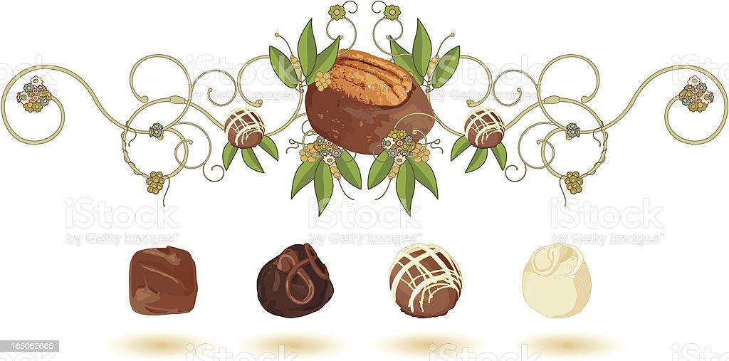 Chocolate Lovers Fantasy royalty-free stock vector art