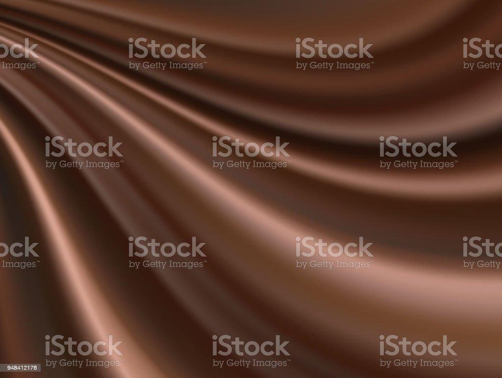 chocolate silk background