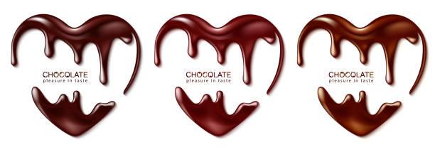 초콜릿 - 초콜릿 stock illustrations