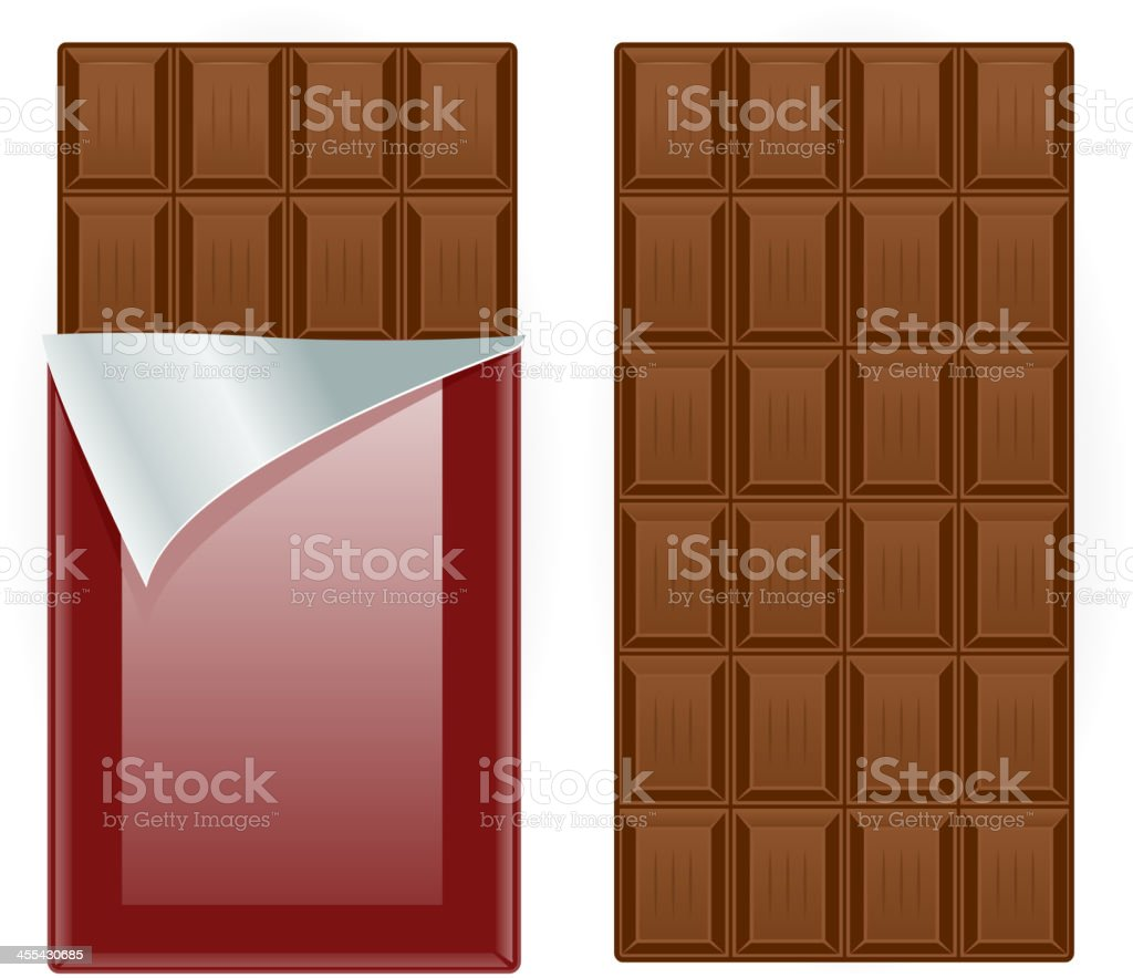 Chocolate royalty-free chocolate stock vector art & more images of brown