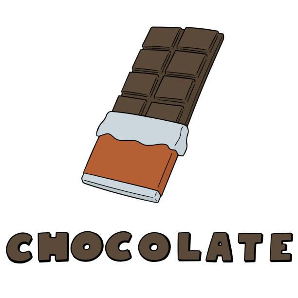 chocolate – artystyczna grafika wektorowa