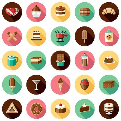 Chocolates Icon Set