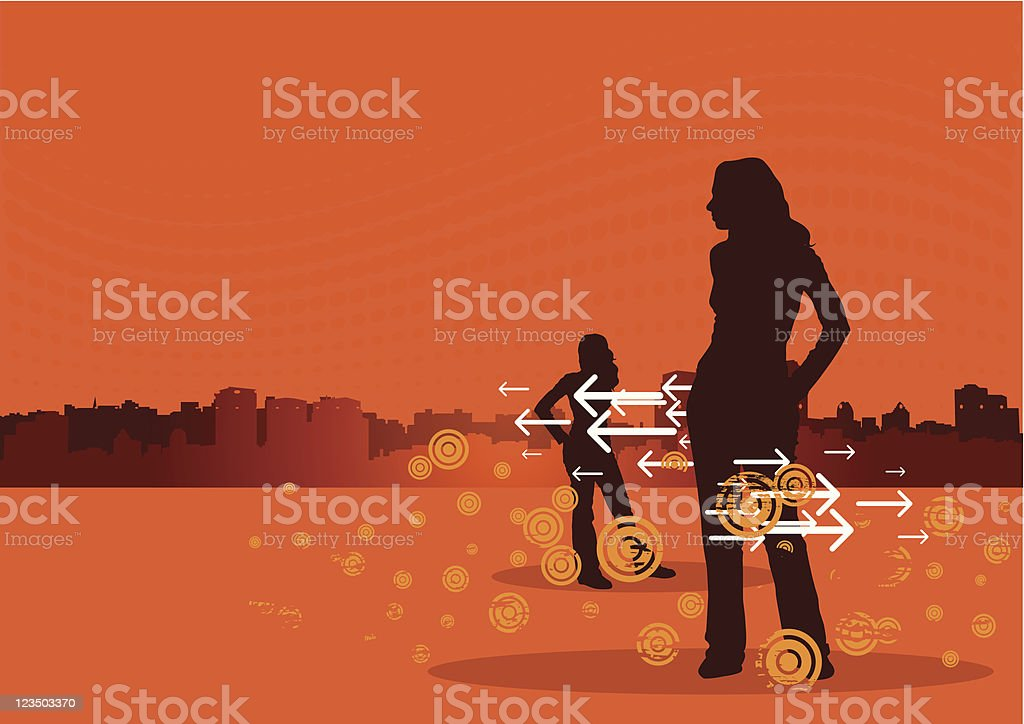 Choices royalty-free stock vector art