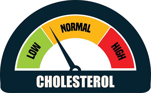 Cholesterol Meter Gauge Stock Illustration - Download Image Now