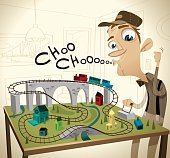 Craig is the assistant supervisor at the local environmental government office. But after work, when he gets home, he's a super awesome train conductor. All aboard! CHOO CHOOOOOOO!