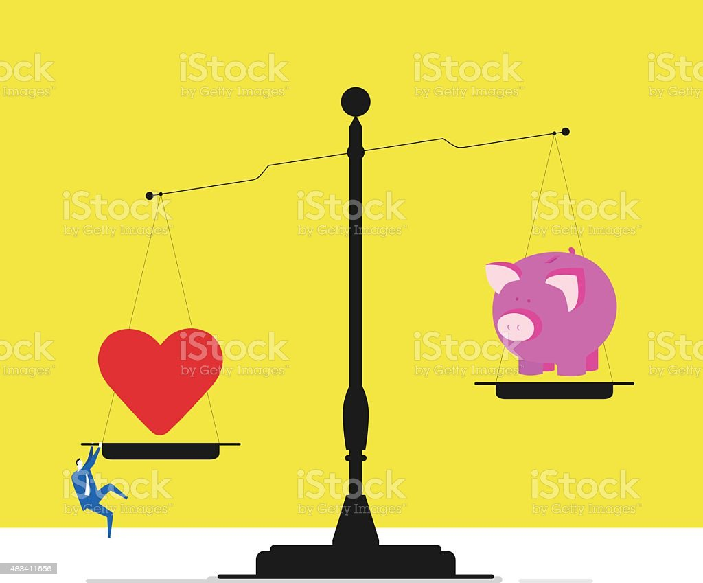 Choosing To Follow Your Heart Stock Vector Art More Images Of 2015