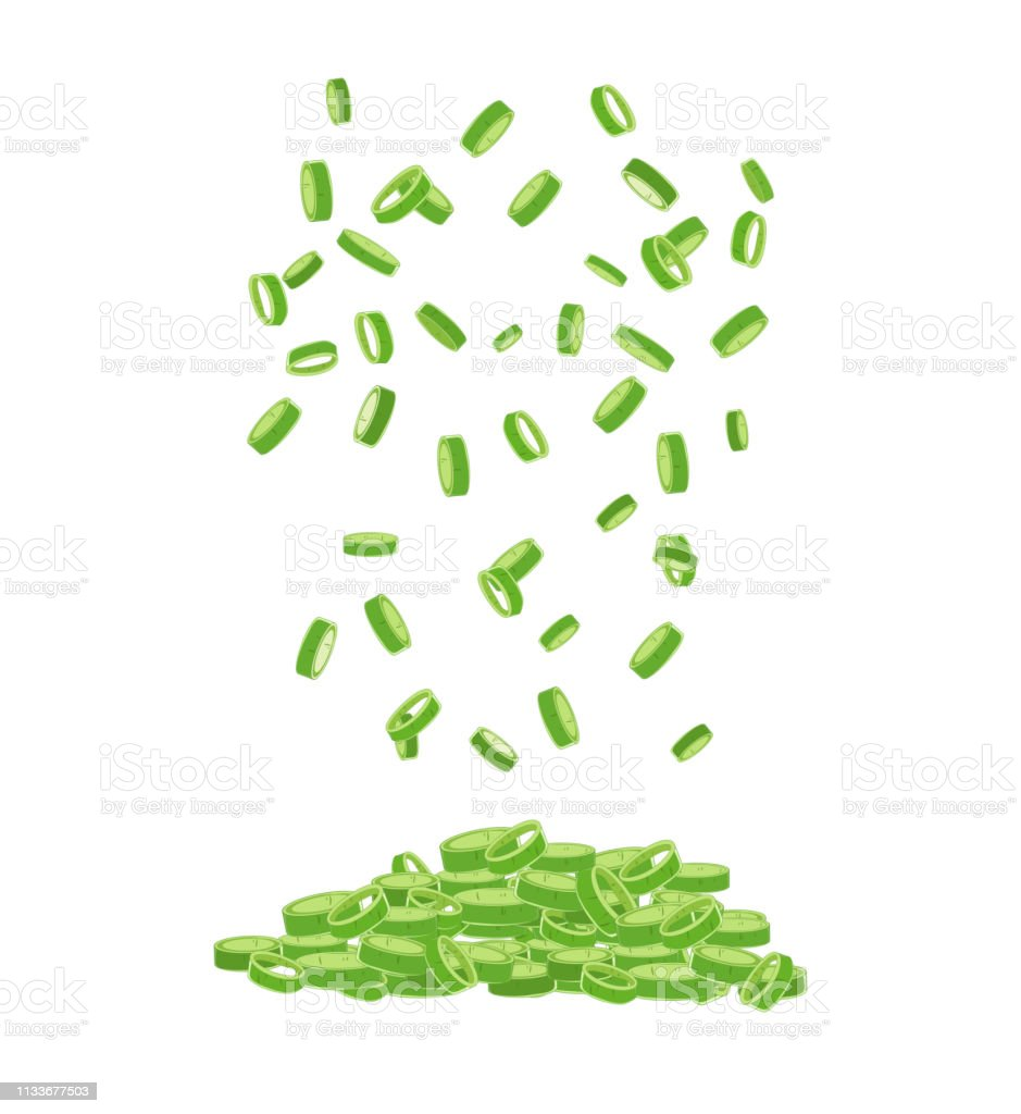 Chopped Fresh Green Onions Chives isolated. Chopped fresh green onions. Bunch stock vector