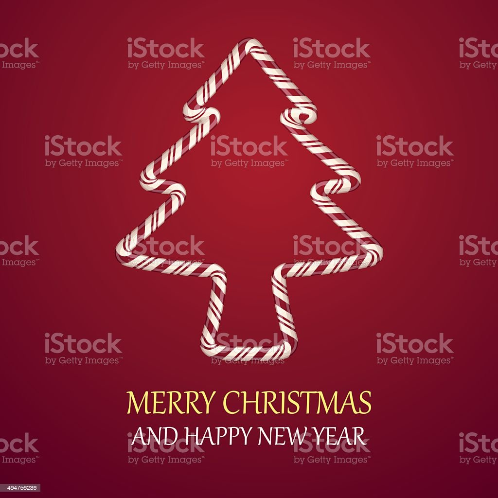 Chrismas candy tree shape royalty-free chrismas candy tree shape stock vector art & more images of backgrounds