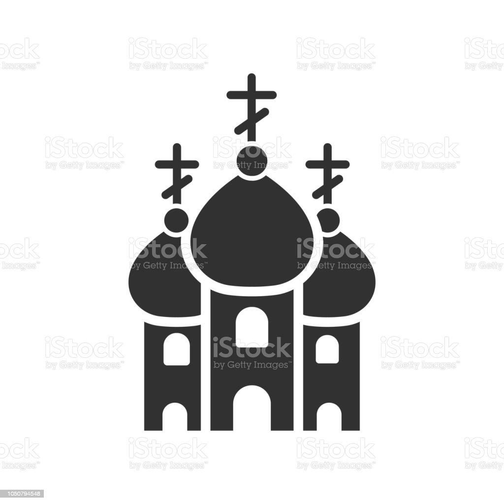 Christian Church with domes