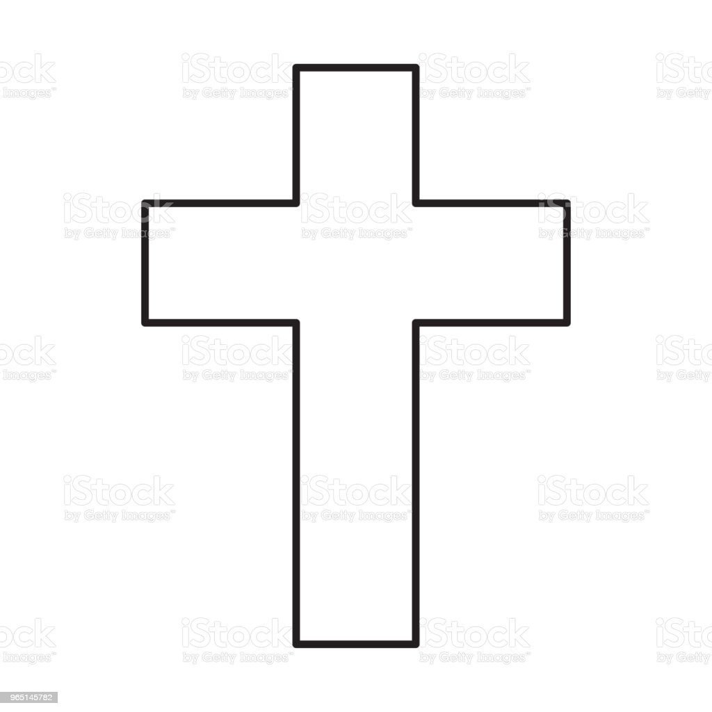 christian cross icon royalty-free christian cross icon stock vector art & more images of art