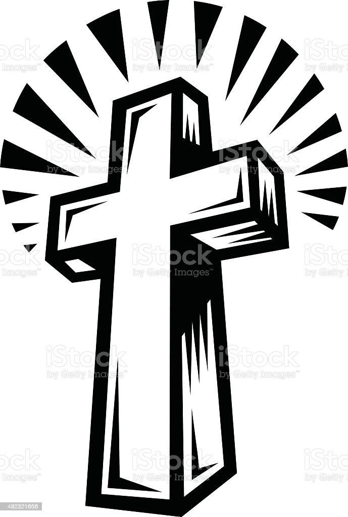 christian cross stock vector art more images of 2015 492321656 rh istockphoto com cross vector images free cross vector art