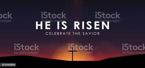 Christian easter scene saviour cross on dramatic sunrise scene with vector id910445544?b=1&k=6&m=910445544&s=612x612&h= q5ek1ypvyffgy5gt7wlwv8hibc 60s4flt3farvqbo=