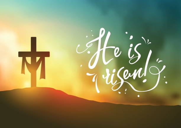 Lenten Cross With Sunrise Or Sunset Background Royalty Free Cliparts,  Vectors, And Stock Illustration. Image 69077118.