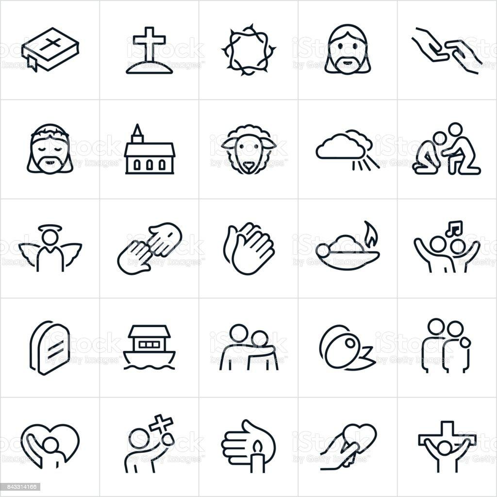 Christian Faith Icons