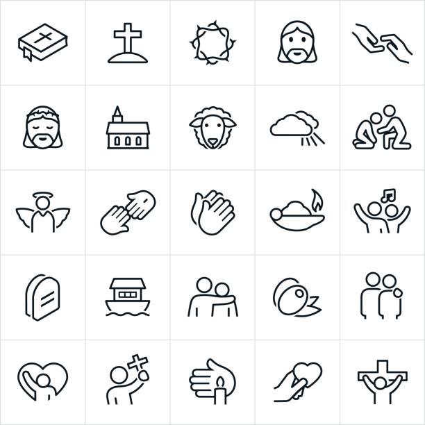 基督教信仰圖示 - 宗教 幅插畫檔、美工圖案、卡通及圖標