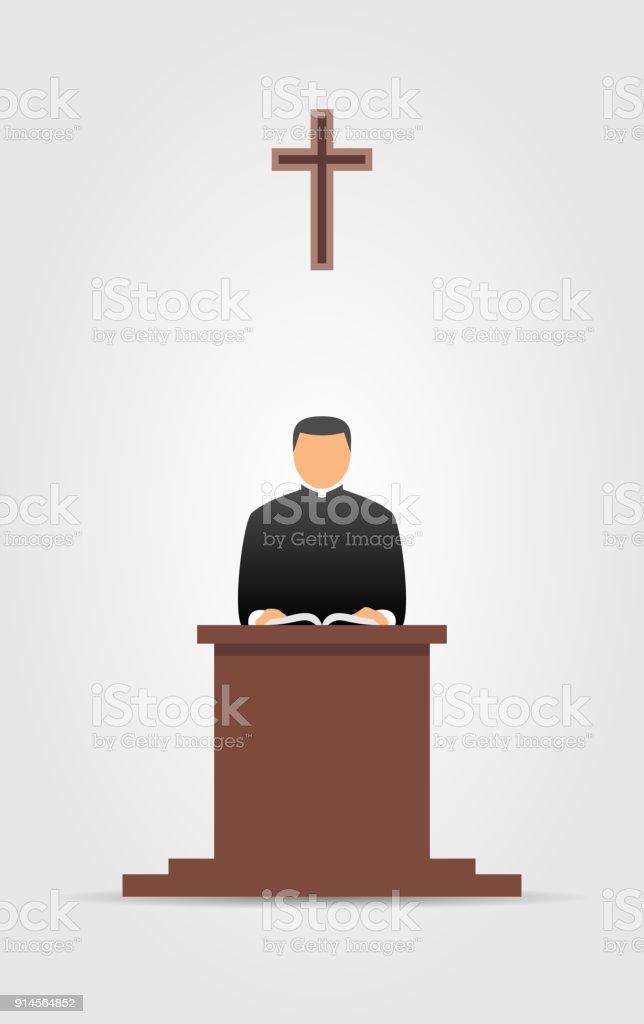 Preachers Podium Clip Art Clip Art, Vector Images U0026 Illustrations