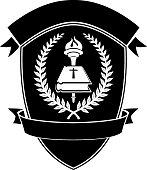 Christian School Shield Emblem