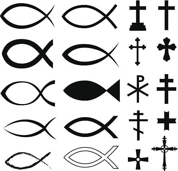 Royalty Free Christian Symbols Clip Art Vector Images