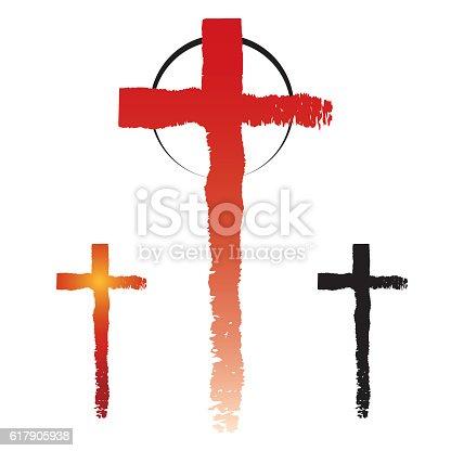 Christianity Cross Symbols Stockvectorkunst En Meer Beelden Van
