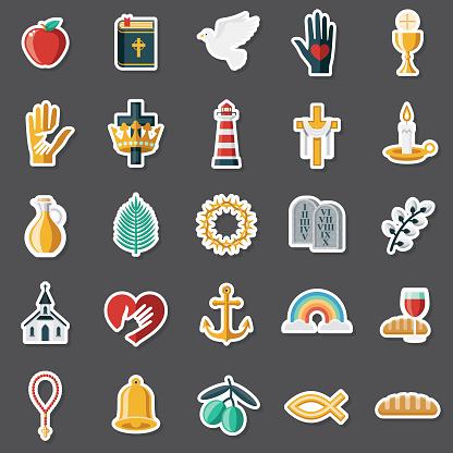 Christianity Sticker Set