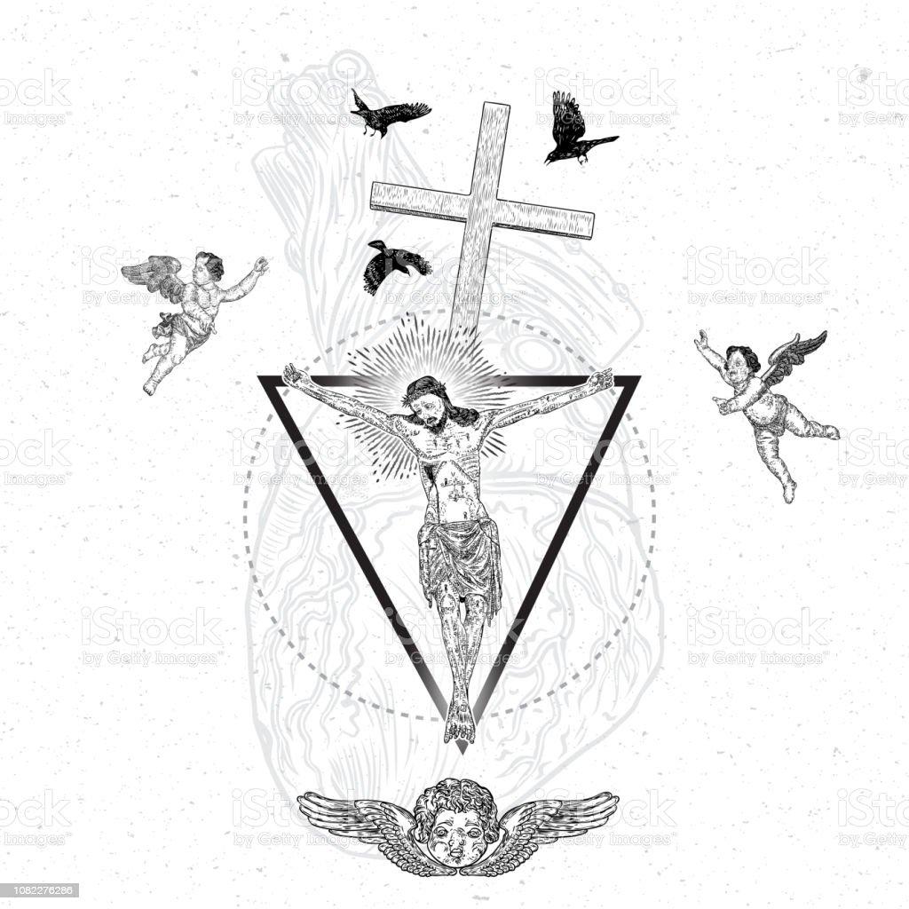 Christianity Symbol Of Love Prayer And Religion Jesus Christ