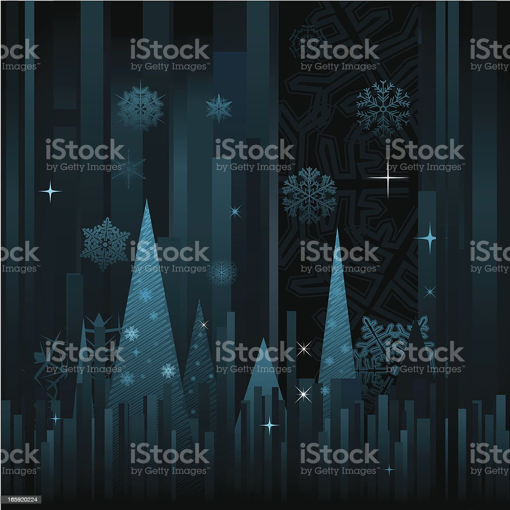 Christmas abstract background vector art illustration