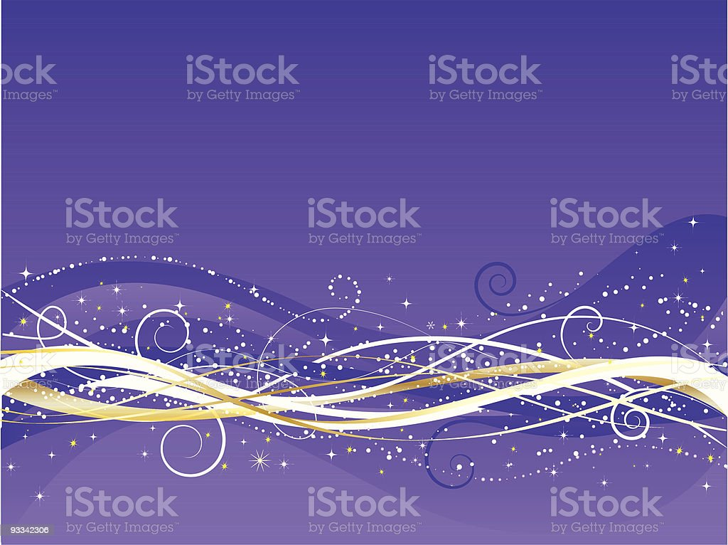 Christmas abstract royalty-free stock vector art