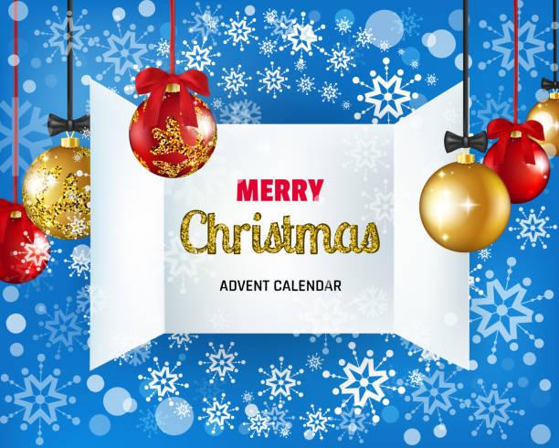 weihnachten adventskalender fenster, weihnachten öffnen kalender türen - adventskalender tür stock-grafiken, -clipart, -cartoons und -symbole