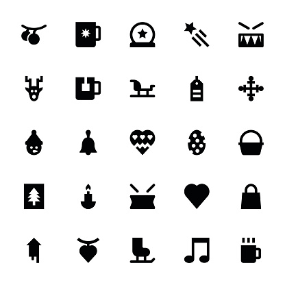 Christmas and Easter Vector Icons 4