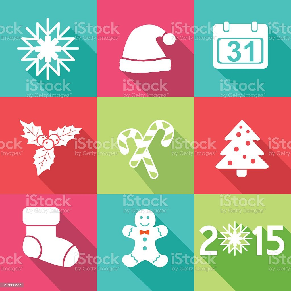 christmas and new year banners cards flat design royalty free christmas and