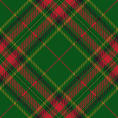 Christmas and New Year decorative tartan plaid seamless diagonal pattern.