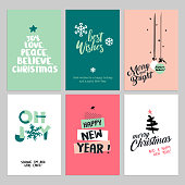 Hand drawn vector illustrations for greeting cards, website and mobile banners, marketing material.