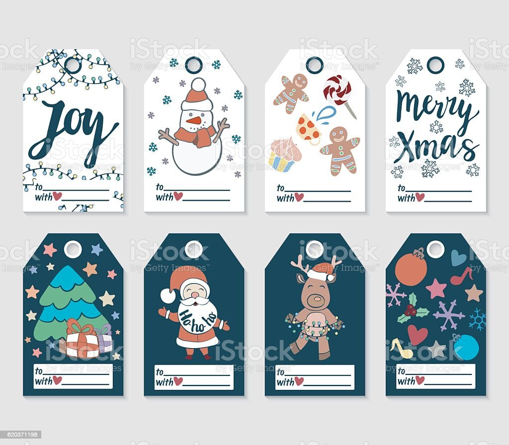 Christmas and new year gift tags and cards christmas and new year gift tags and cards negle Image collections