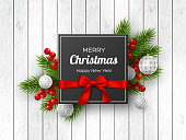 istock Christmas and New Year holiday design. 1058033630