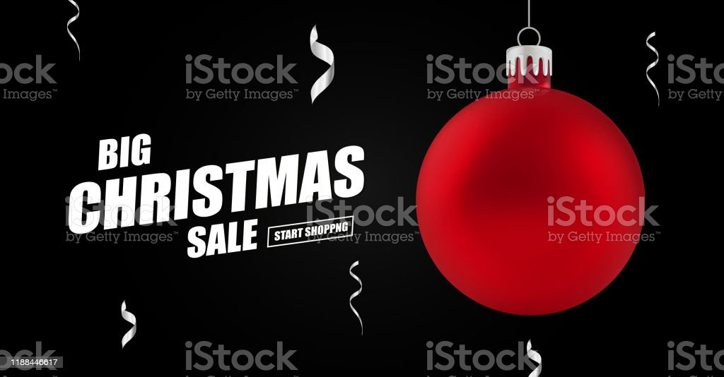 Christmas And New Year Holiday Sale Ad Banner Stock Illustration Download Image Now Istock