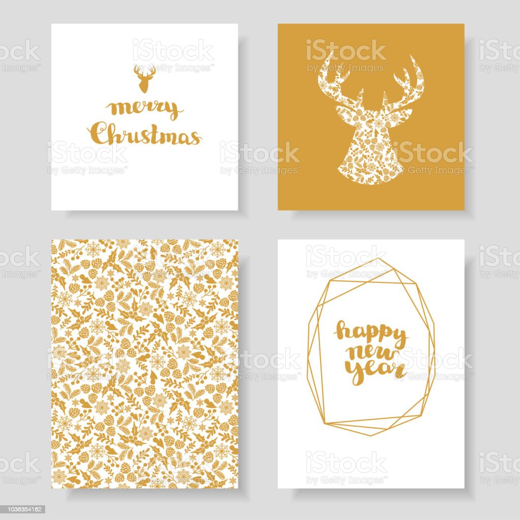 christmas and new year invitation cards royalty free christmas and new year invitation cards