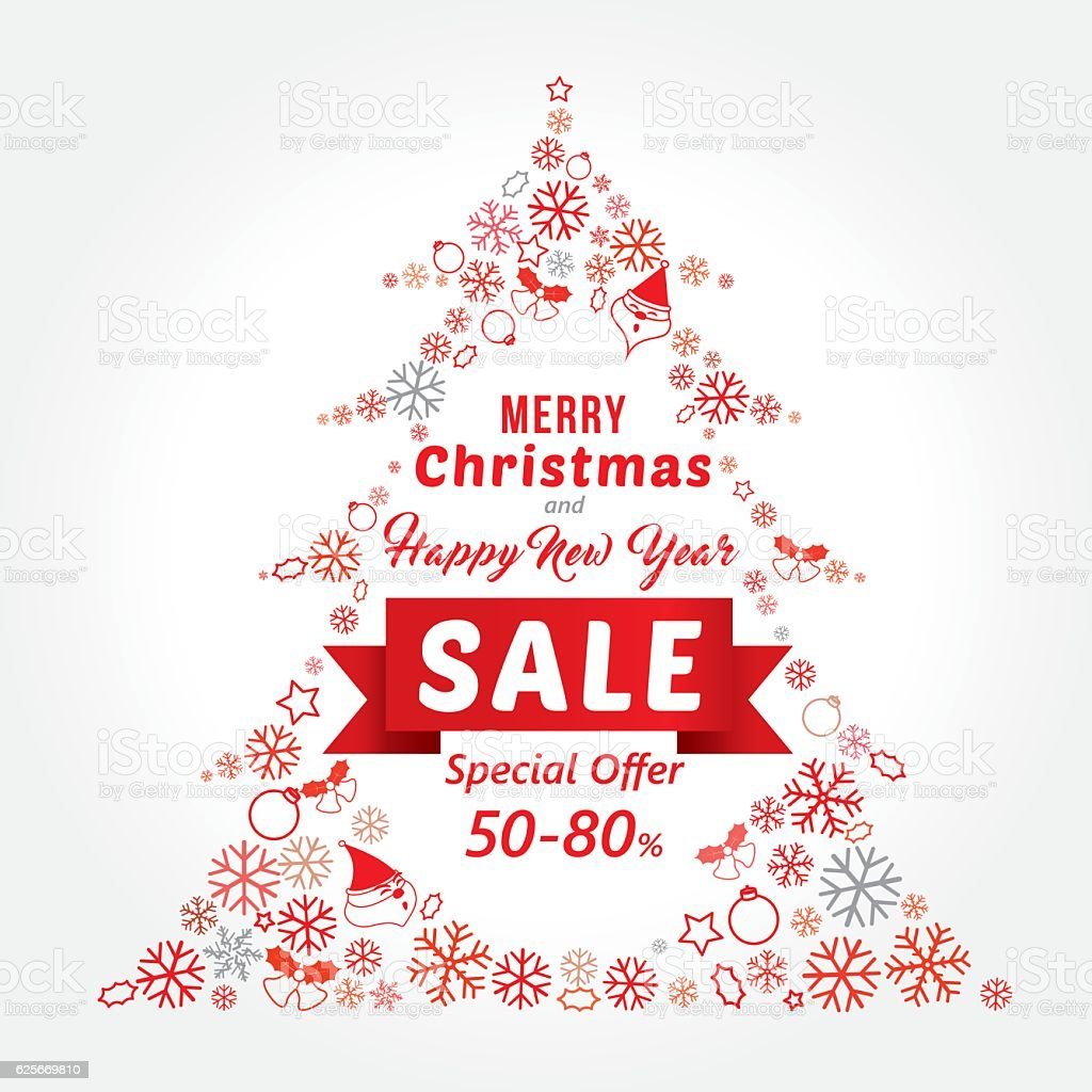 christmas and new year sale banner template design royalty free christmas and new year sale