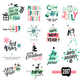 Hand drawn  watercolor vector illustrations for greeting cards, website design, gift tags and marketing material.