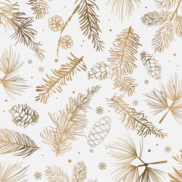 ilustrações, clipart, desenhos animados e ícones de decoração de natal e inverno - christmas pattern