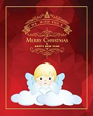 Christmas Angel. EPS10.