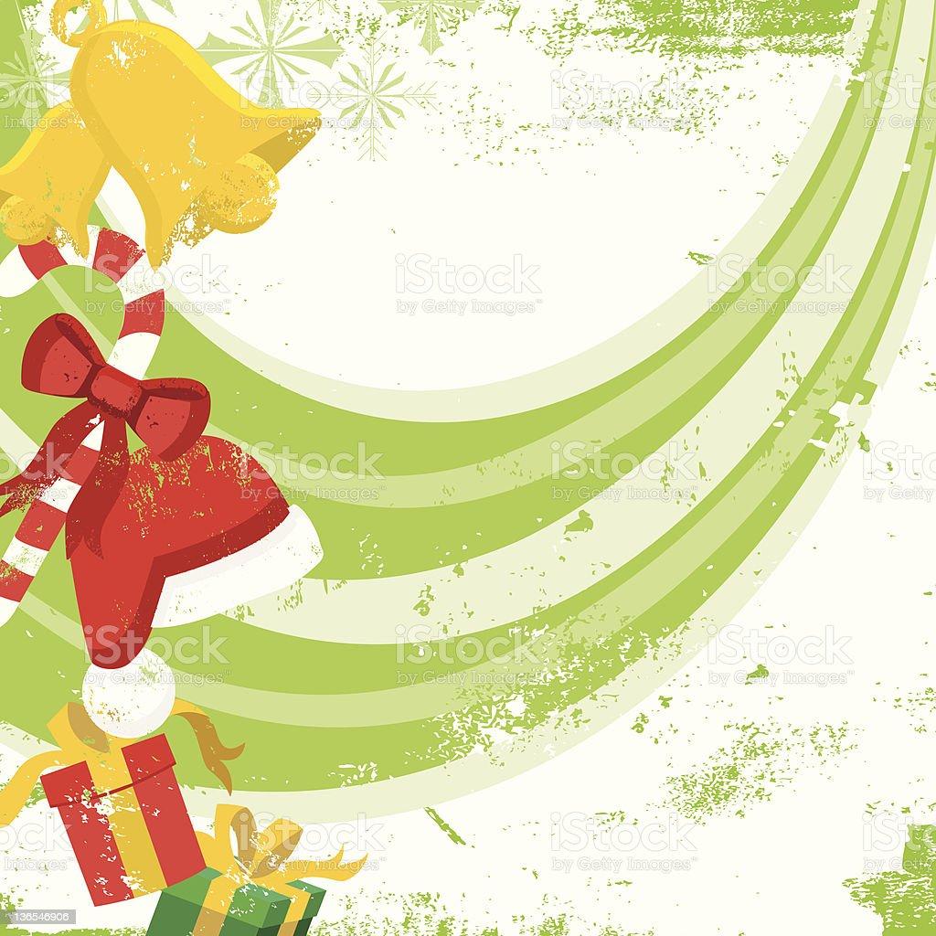 Christmas assortment background vector art illustration