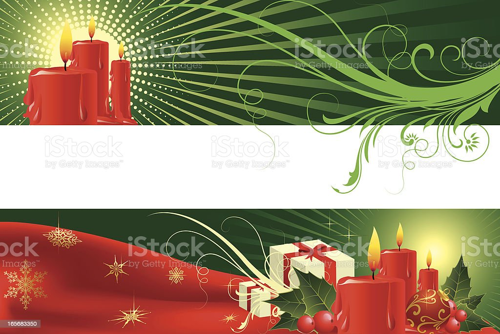 Christmas Background Banner royalty-free stock vector art