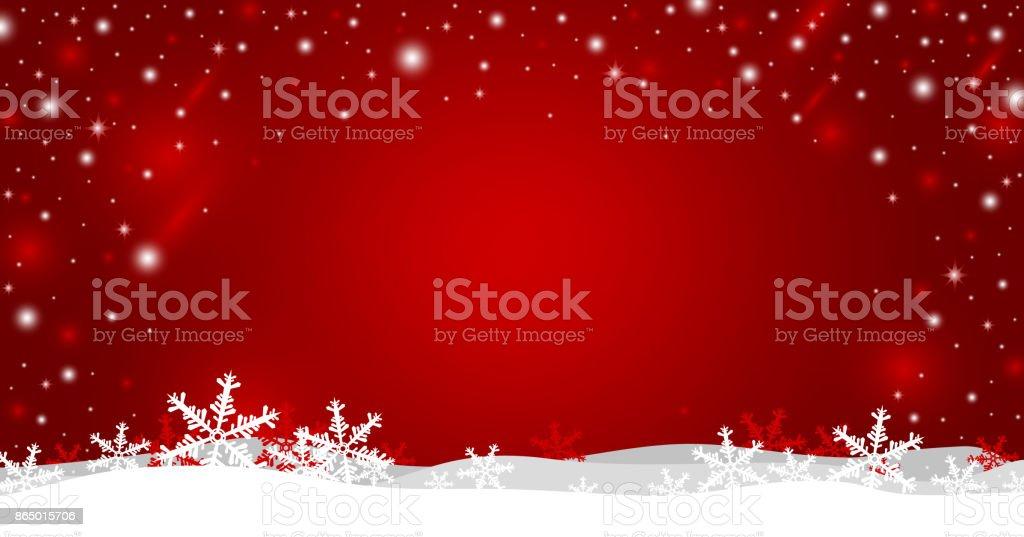 Weihnachten Hintergrund-Design von Schneeflocke-Vektor-illustration – Vektorgrafik