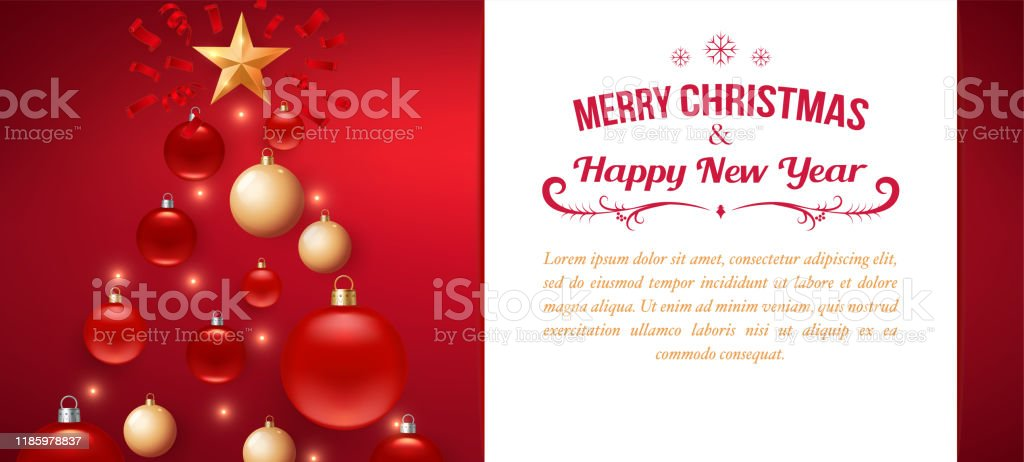 Christmas Background Greeting Card Template For Flyer Poster