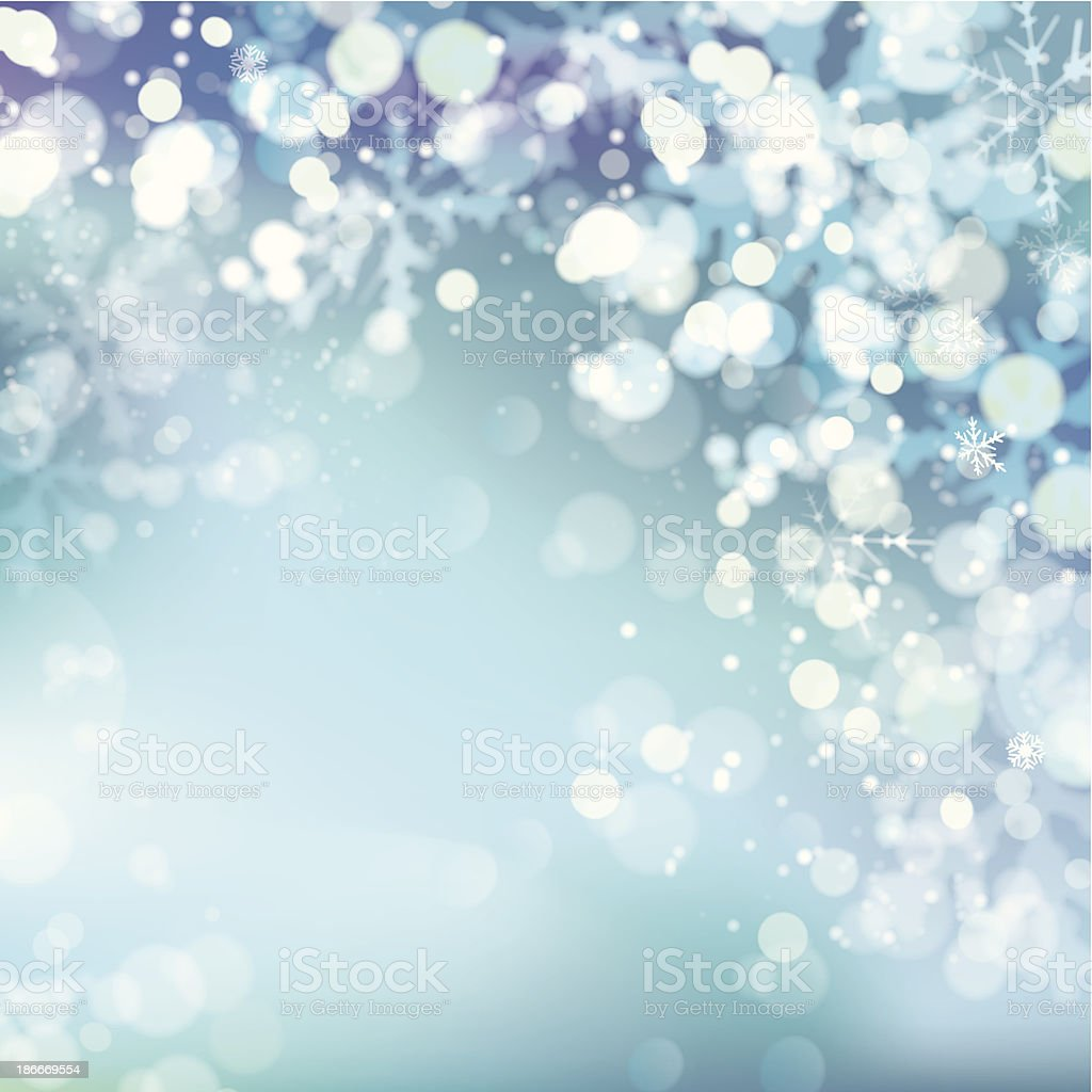 A Christmas background made of snow and snowflakes royalty-free a christmas background made of snow and snowflakes stock vector art & more images of abstract