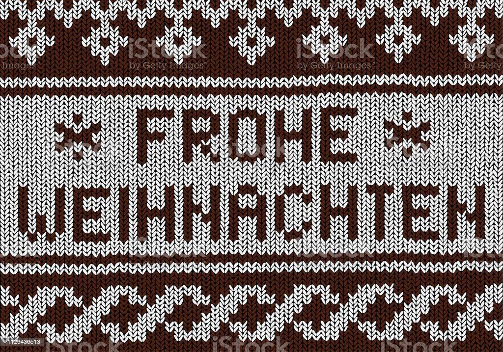 Christmas Background Norwegian Knitting Patterns Stock Illustration Download Image Now Istock