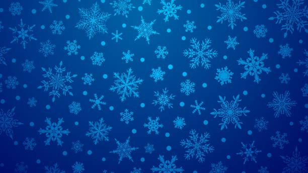 ilustraciones, imágenes clip art, dibujos animados e iconos de stock de snowflakes fondo de navidad - snowflake background