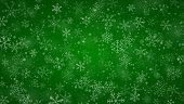 istock Christmas background of snowflakes 1285159499